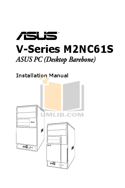 pdf for Asus Desktop V3-M2NC61S manual
