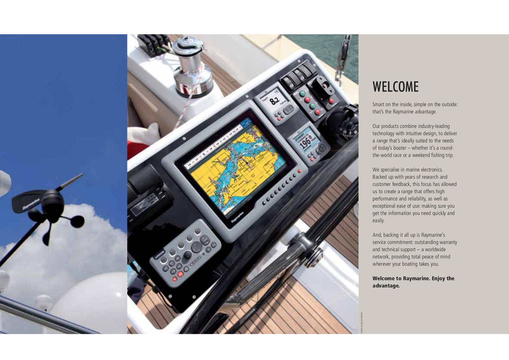 A70d raymarine Manual