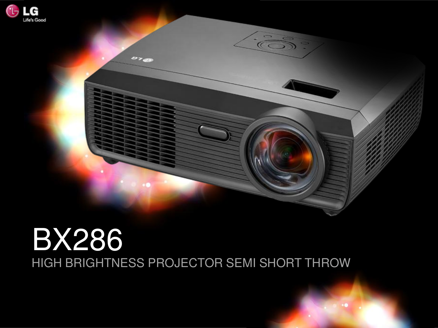 pdf for LG Projector BX286 manual