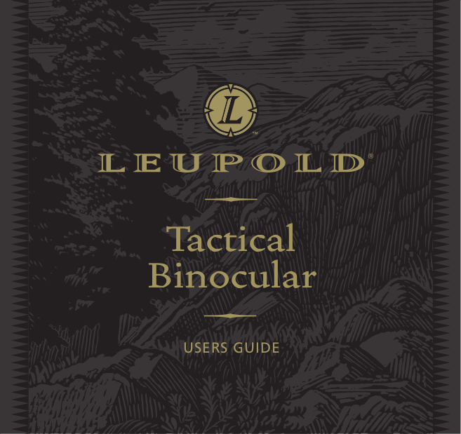 pdf for Leupold Binocular Katmai 8x32 manual