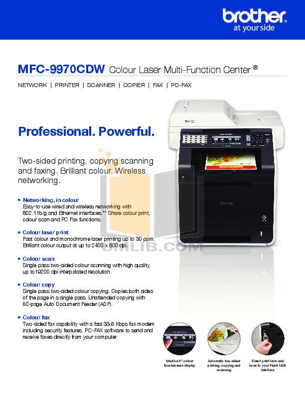 Brother manual pdf