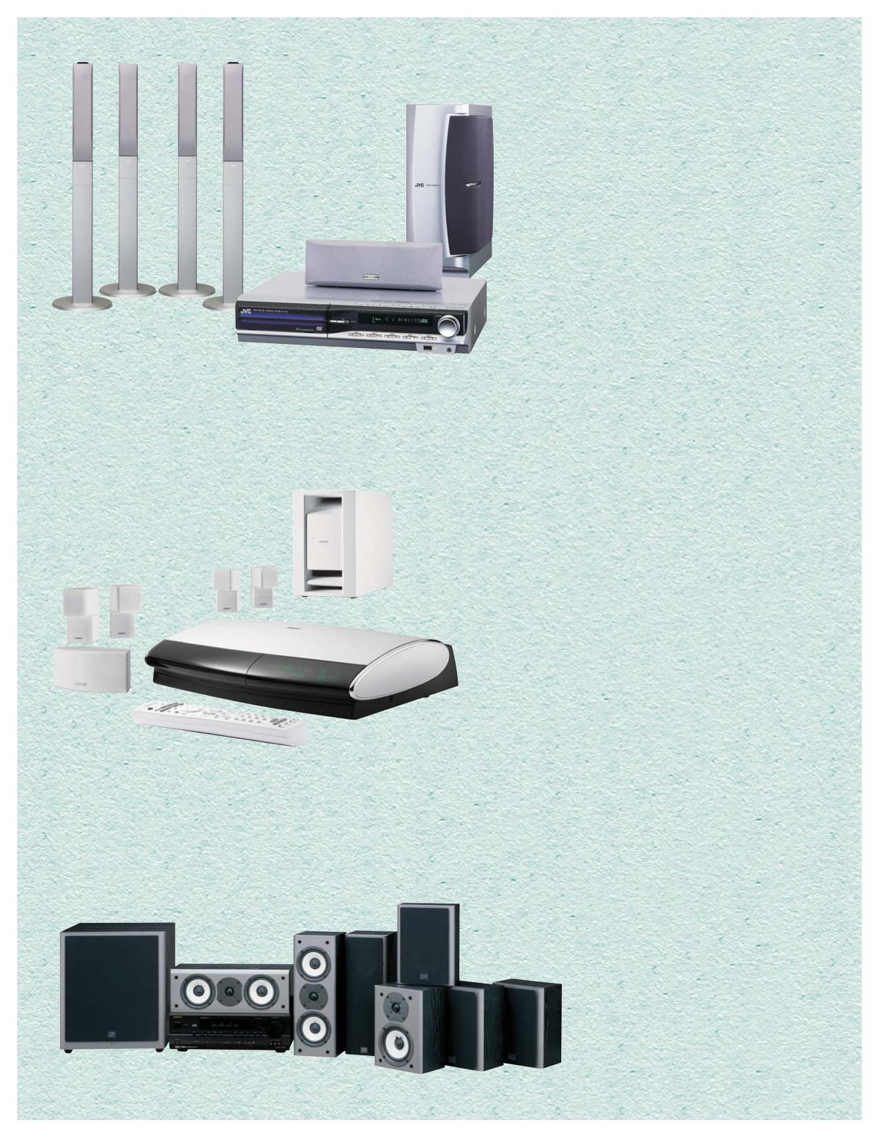 pdf for Jamo Speaker System A 303 HCS 5 manual