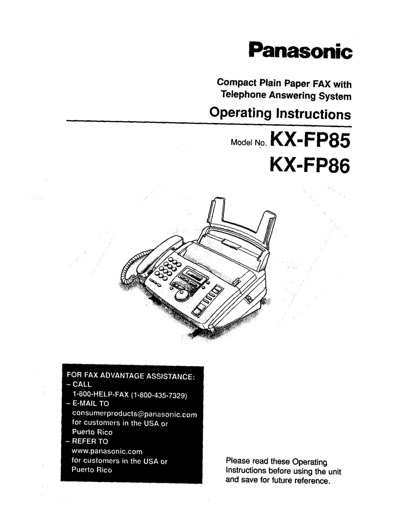 Kx t7453 b manual