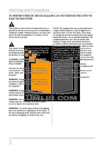 GPX Digital Photo Frame PF708 pdf page preview