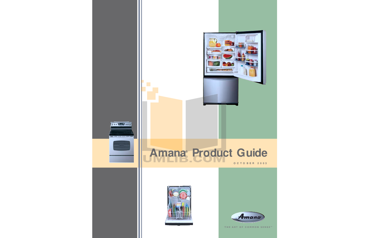 pdf for Amana Oven AEW3630DDS manual