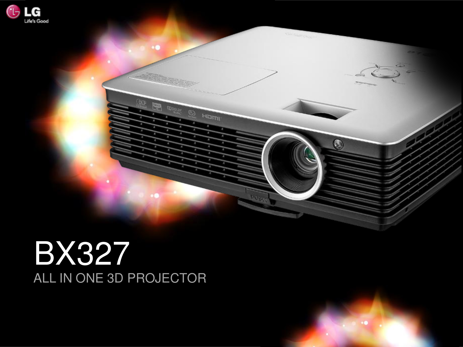pdf for LG Projector BX327 manual