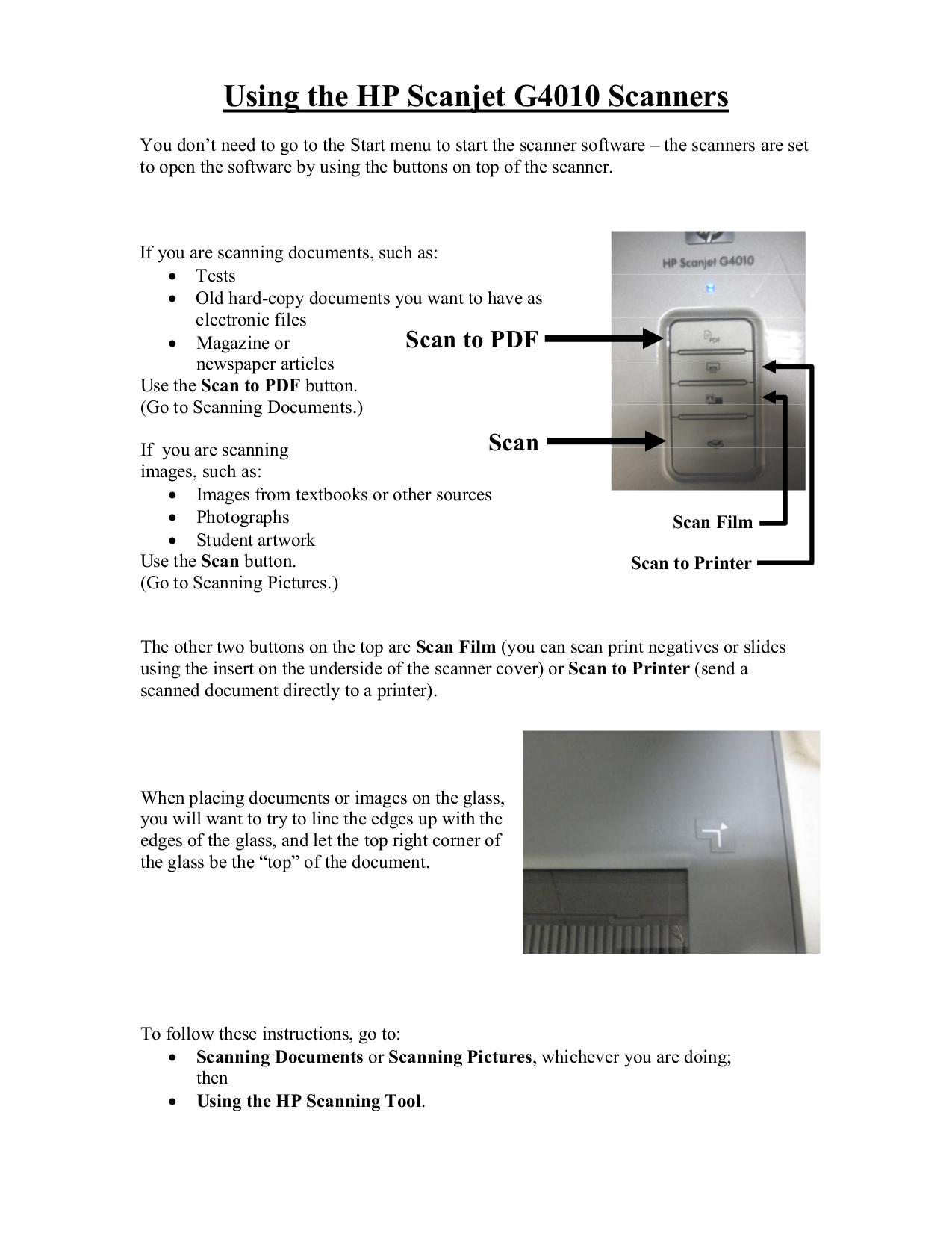 Hp 4570c Scanner Manual