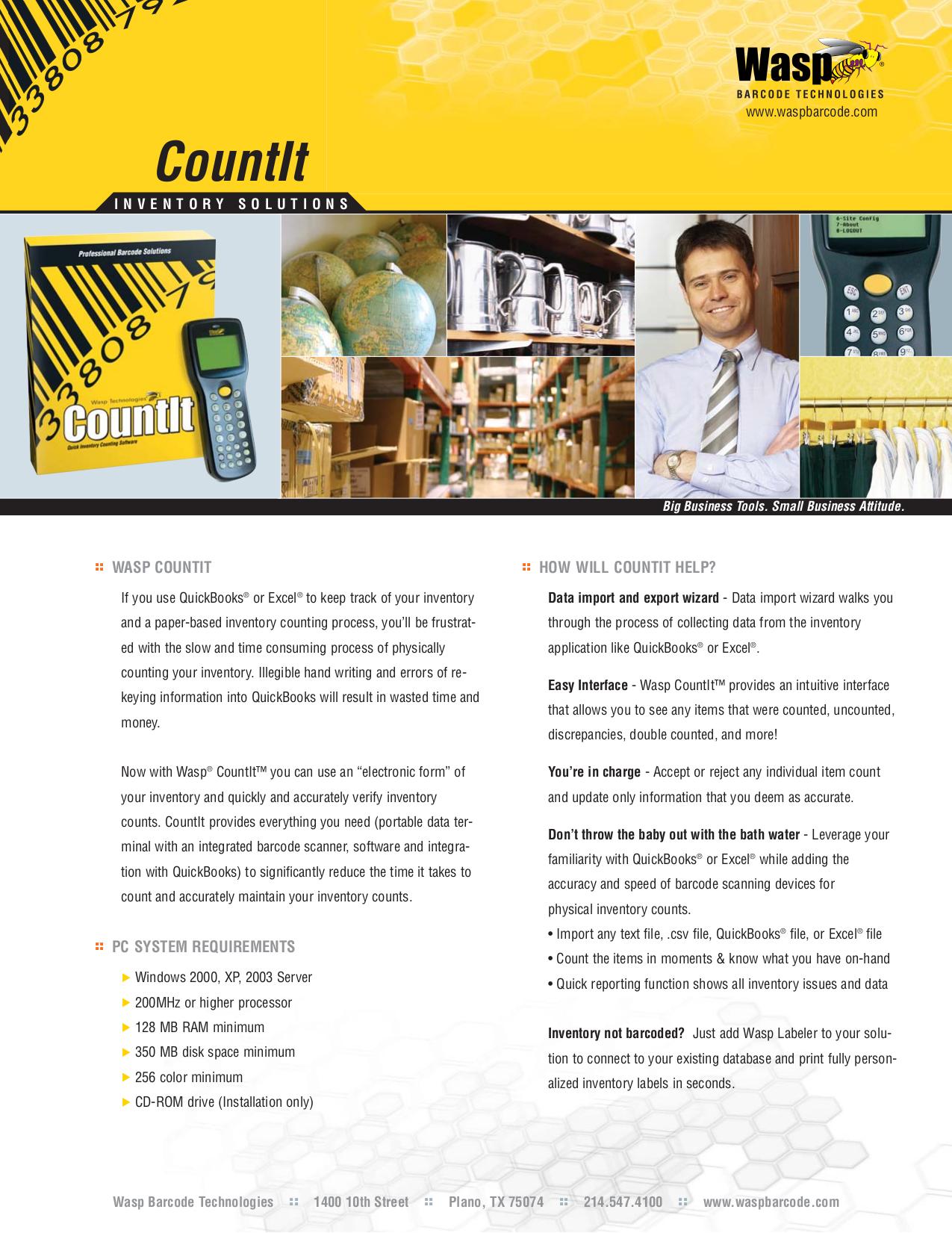 pdf for Wasp Printer WPL330 manual