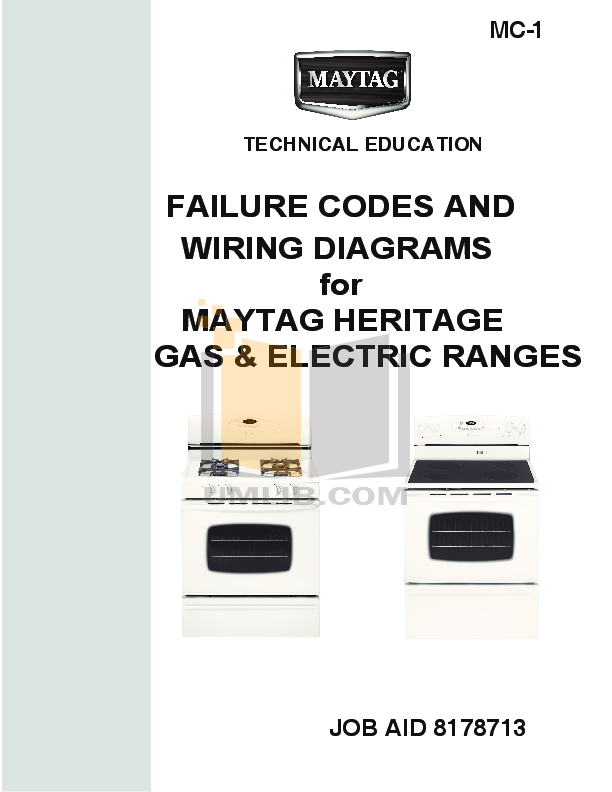 pdf for Amana Oven AEW3530DDW manual