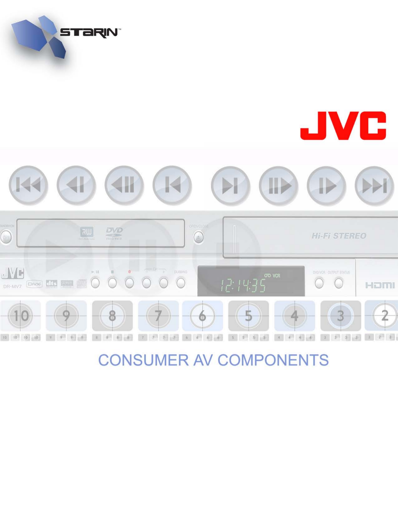 pdf for JVC Speaker System TD-W354BKJ manual