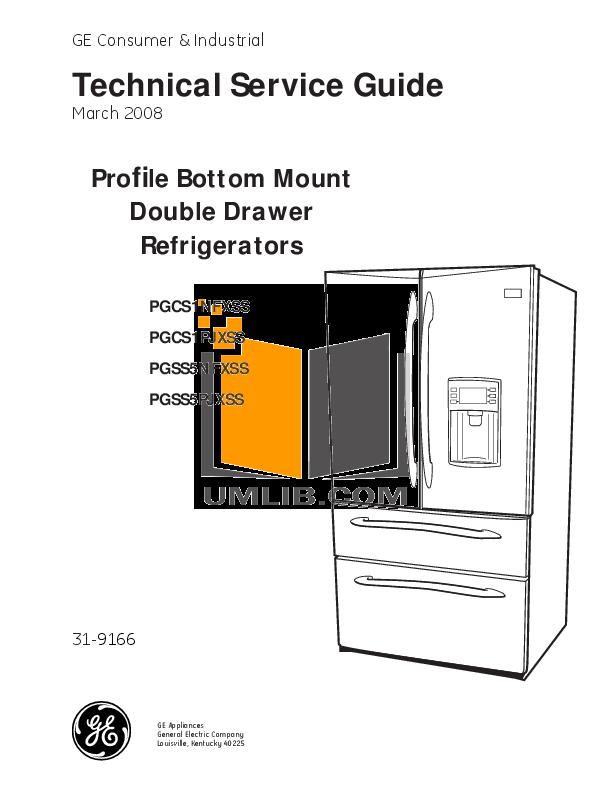Ge Profile Refrigerator tpx24pr Manual on