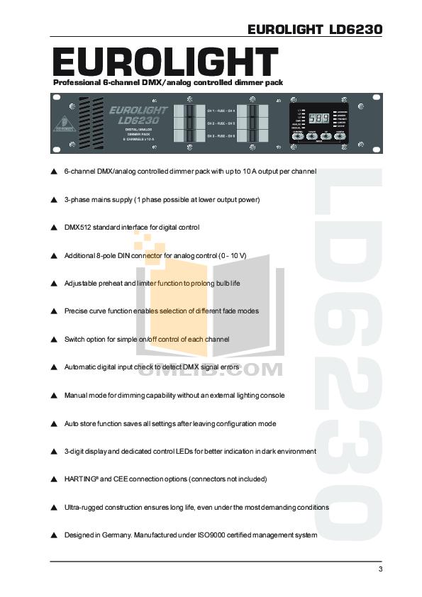 Eurolight Lc2412 Manual Pdf