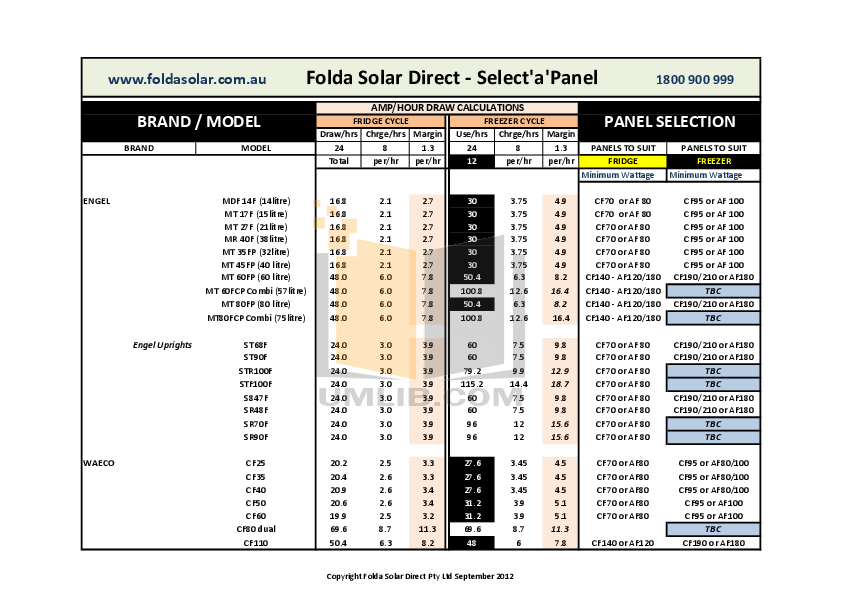 pdf for Engel Freezer SR70F manual