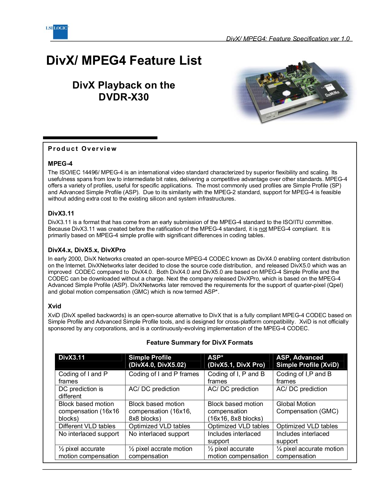 pdf for Wintal DVD Players DVDR-X30 manual