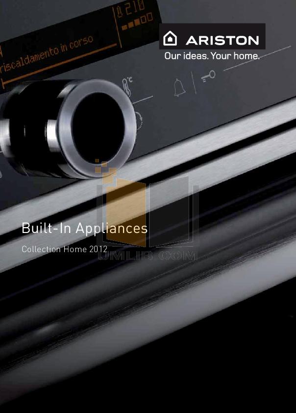 pdf for Ariston Dishwasher L 63 W NA manual