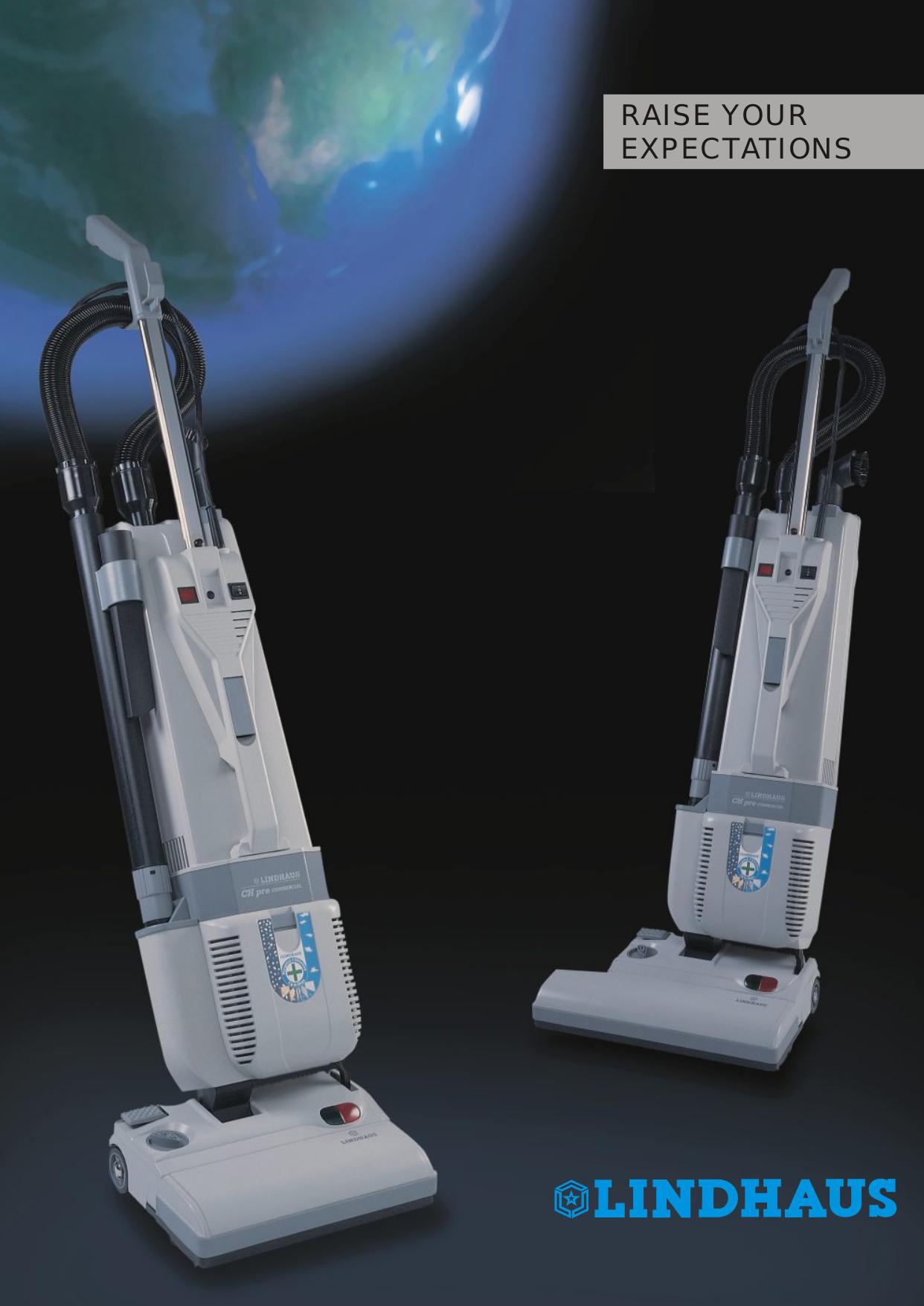 pdf for Lindhaus Vacuum CH Pro 12 manual