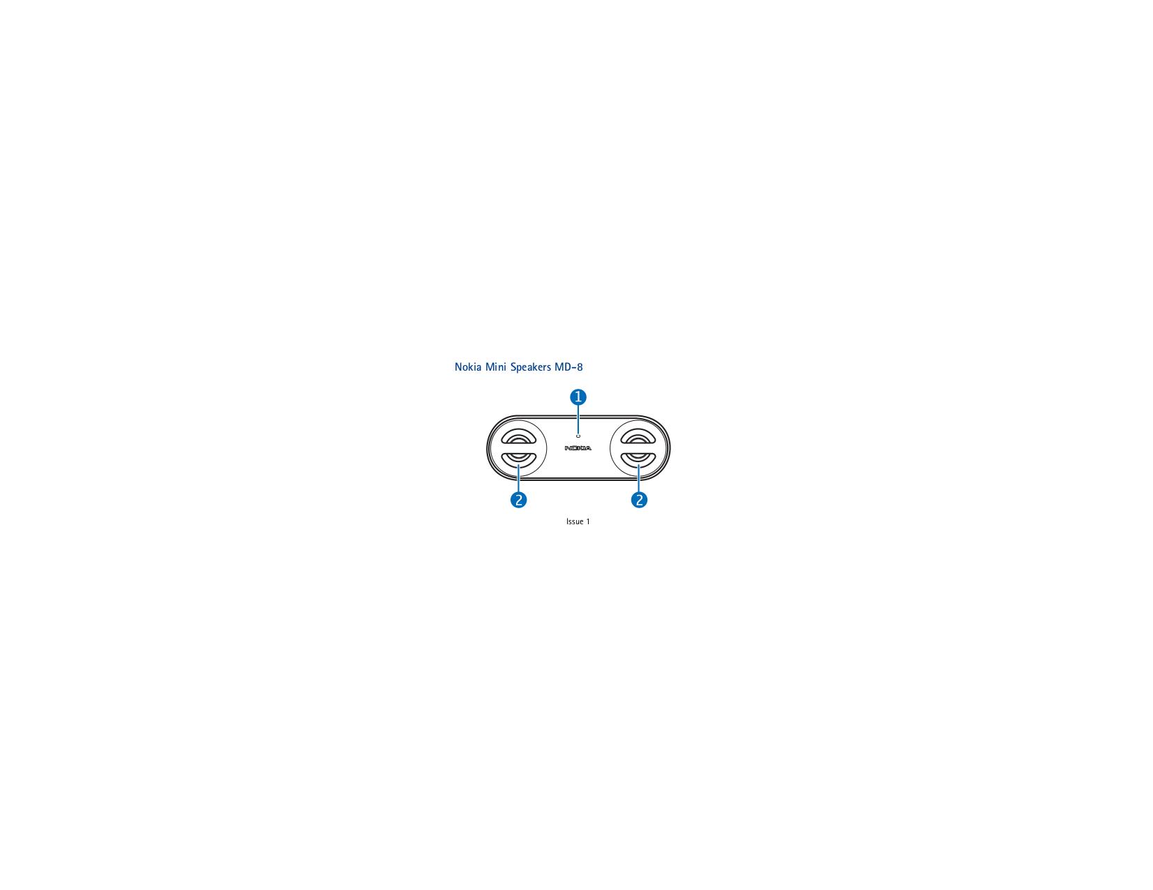 pdf for Nokia Speaker MD-8 manual