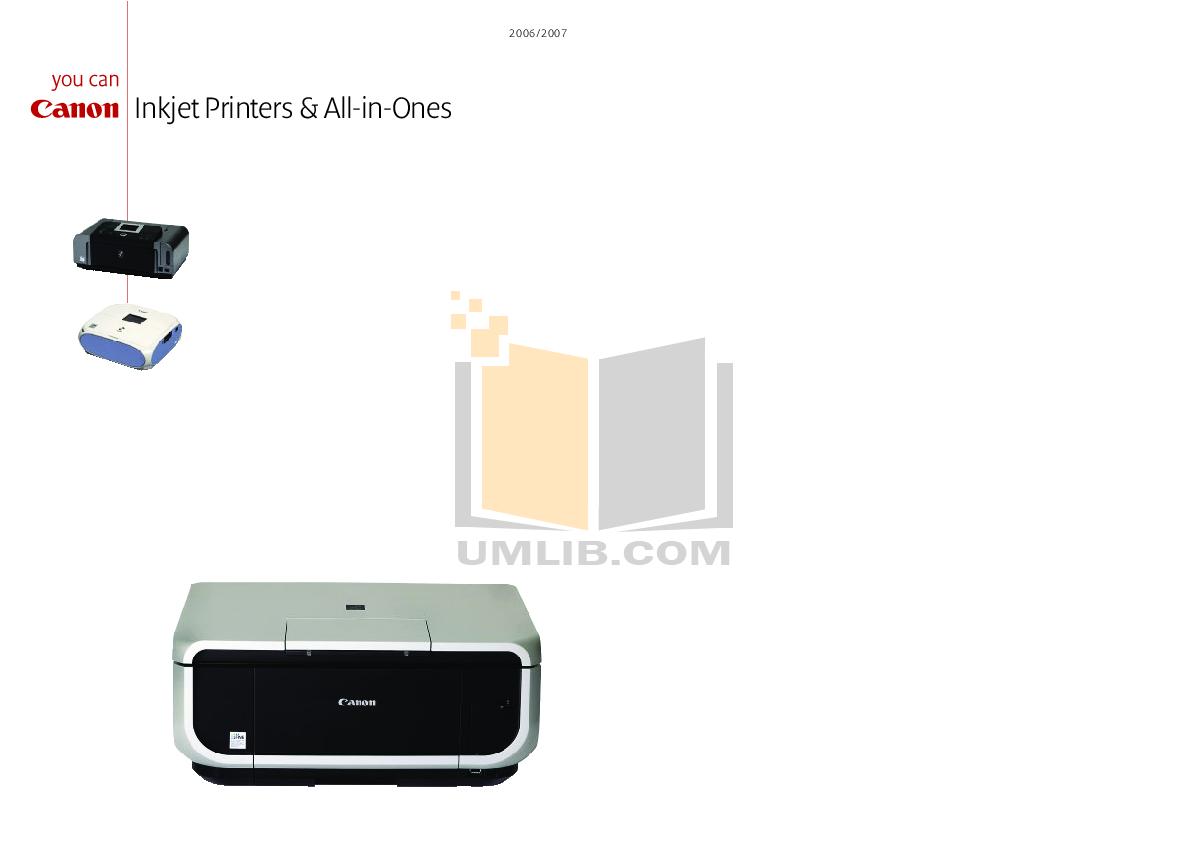 pdf for Canon Printer PIXMA mini260 manual