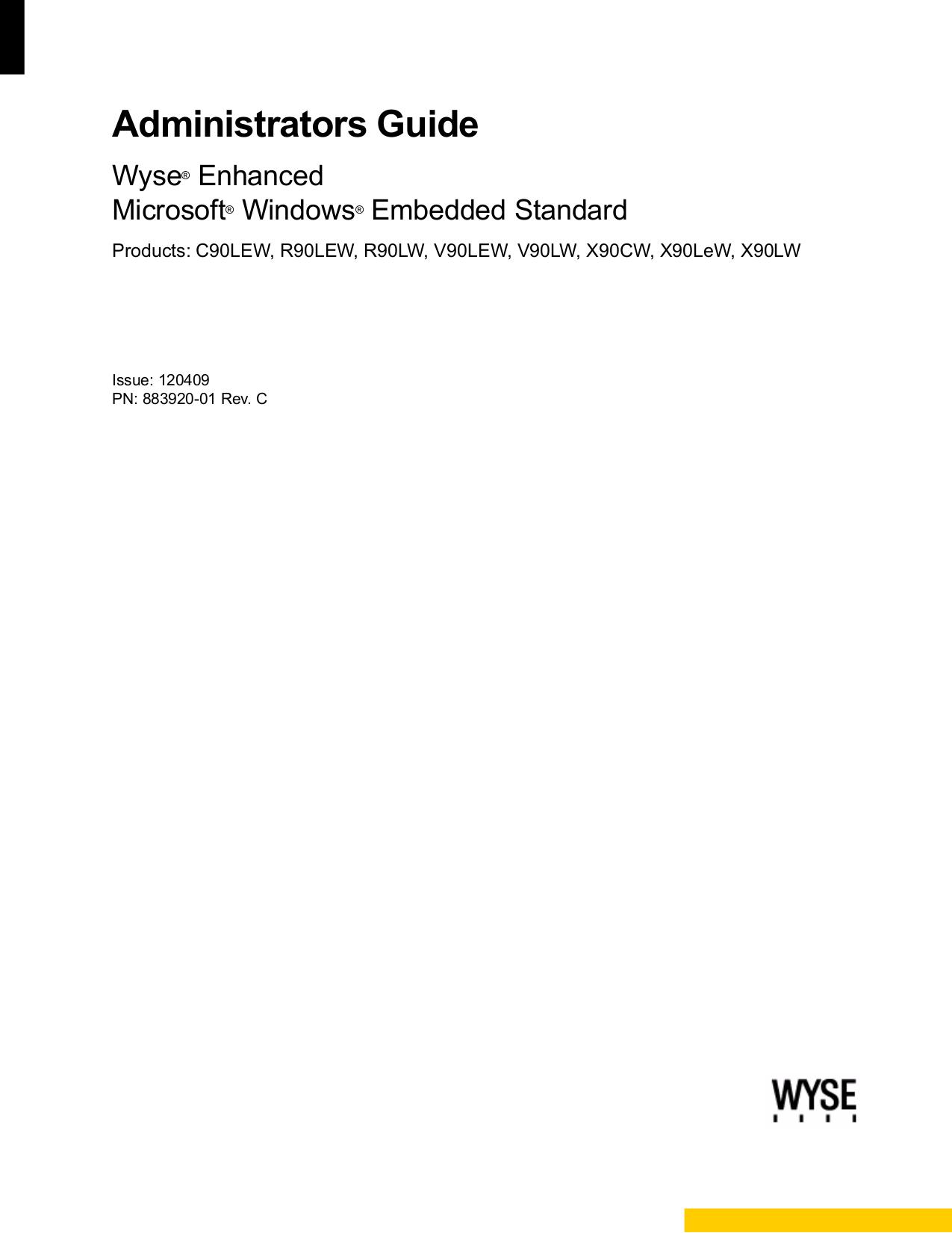 pdf for Wyse Laptop X90LW manual