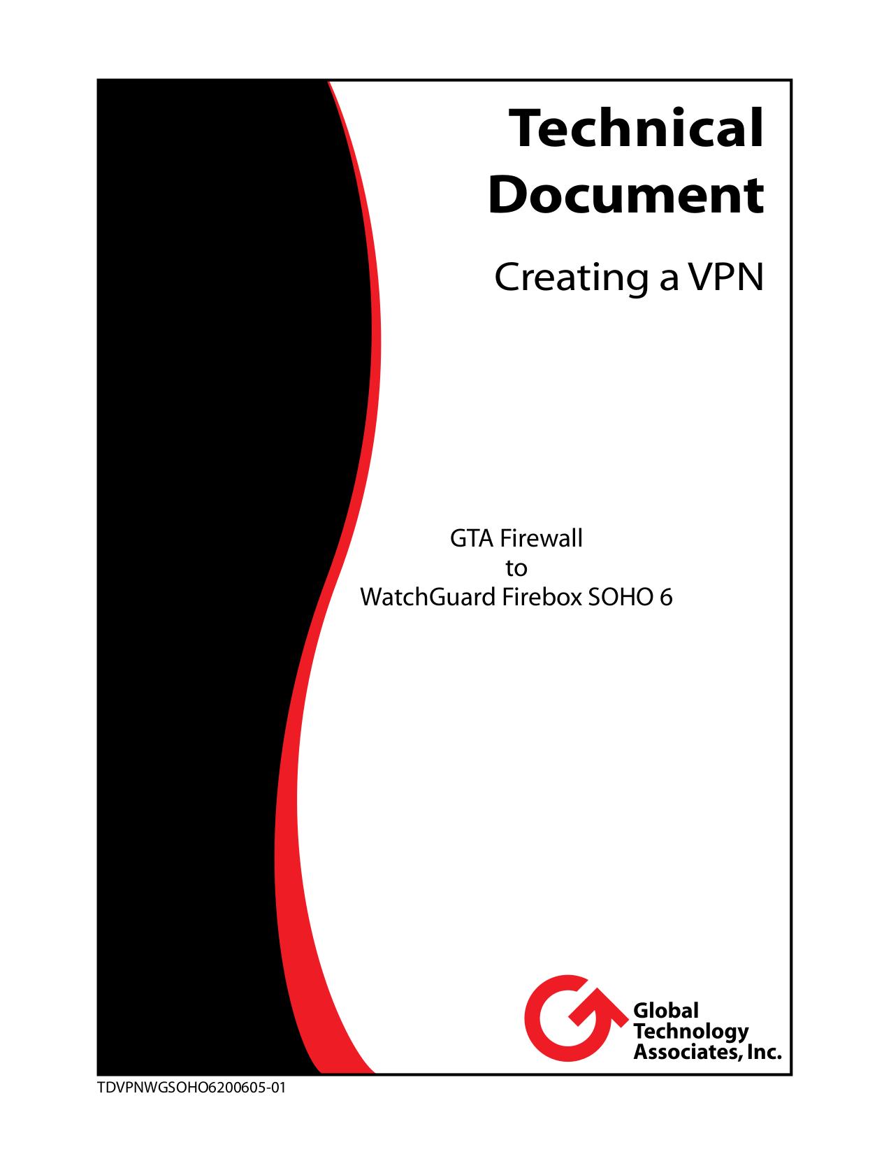 pdf for Watchguard Other Firebox SOHO 6 Firewall manual