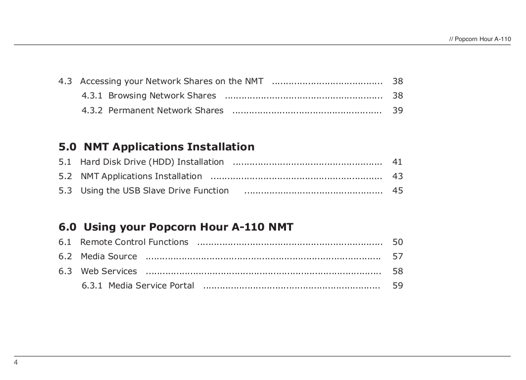 NAD Remote Control HTRM pdf page preview