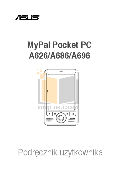 pdf for Asus PDA Mypal A696 manual
