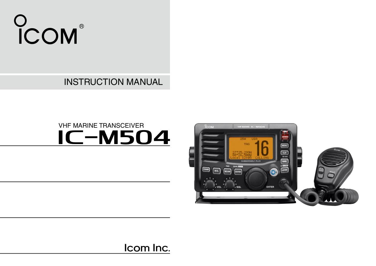 Icom ic 27 Service manual