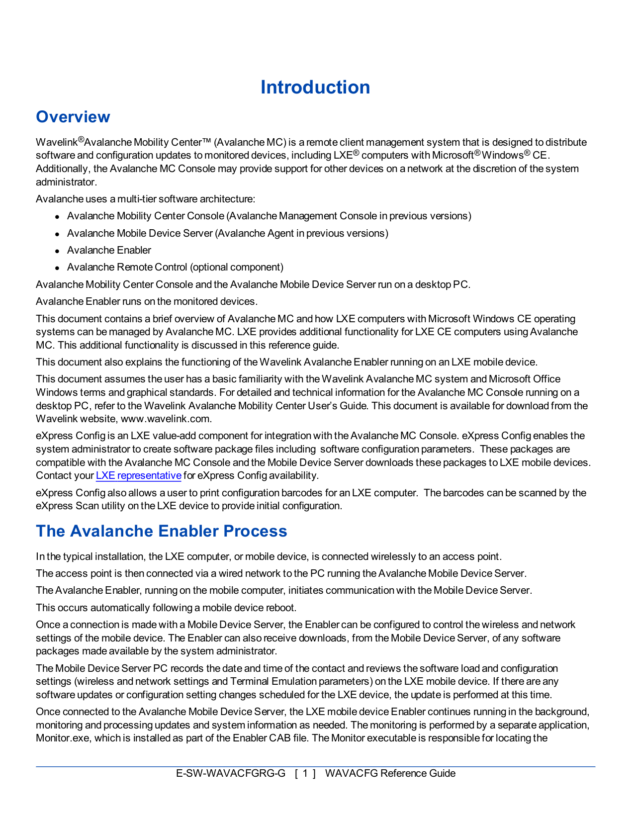 LXE Other Nema 4 Access Point pdf page preview