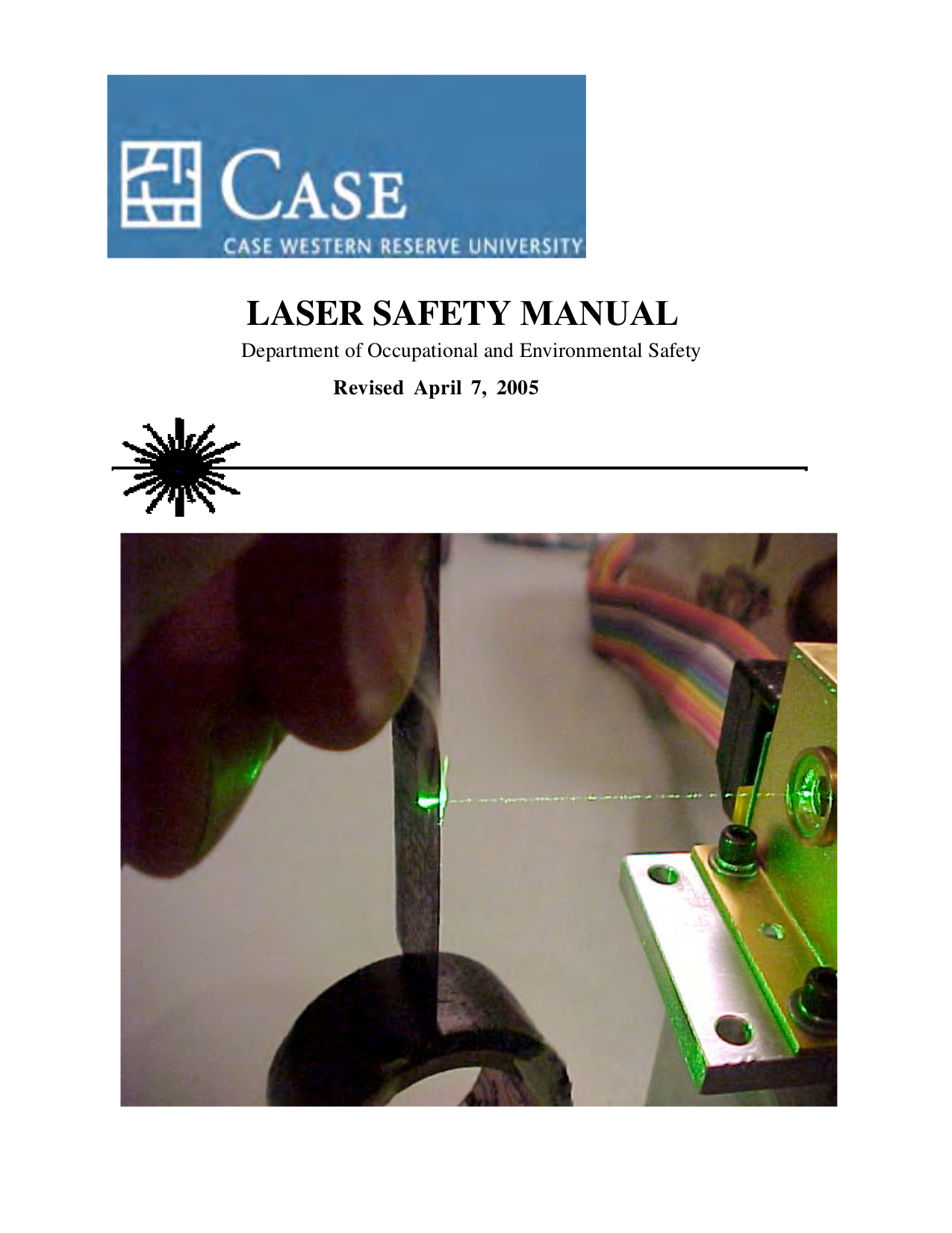 pdf for Laser Storage CASE-5S manual