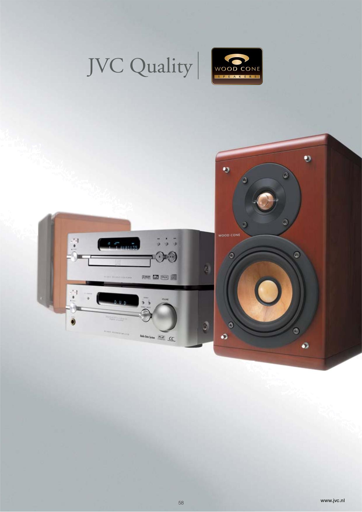 pdf for JVC Headphone HA-NC100 manual
