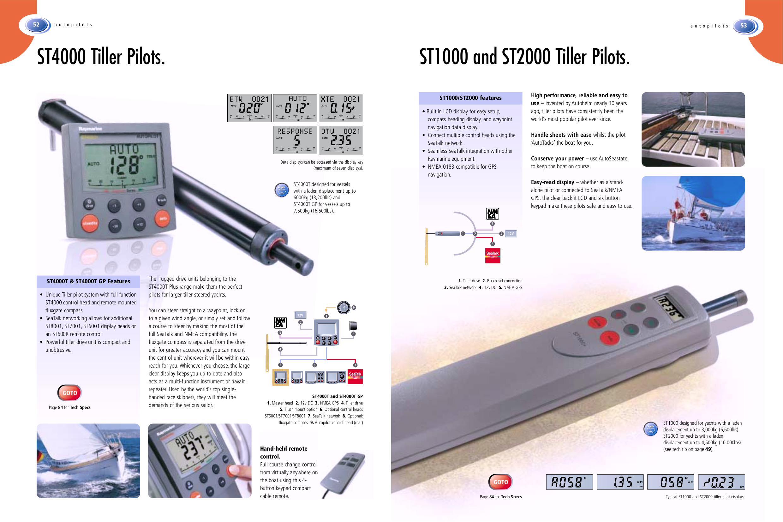 Raymarine st 6000 Installation Manual