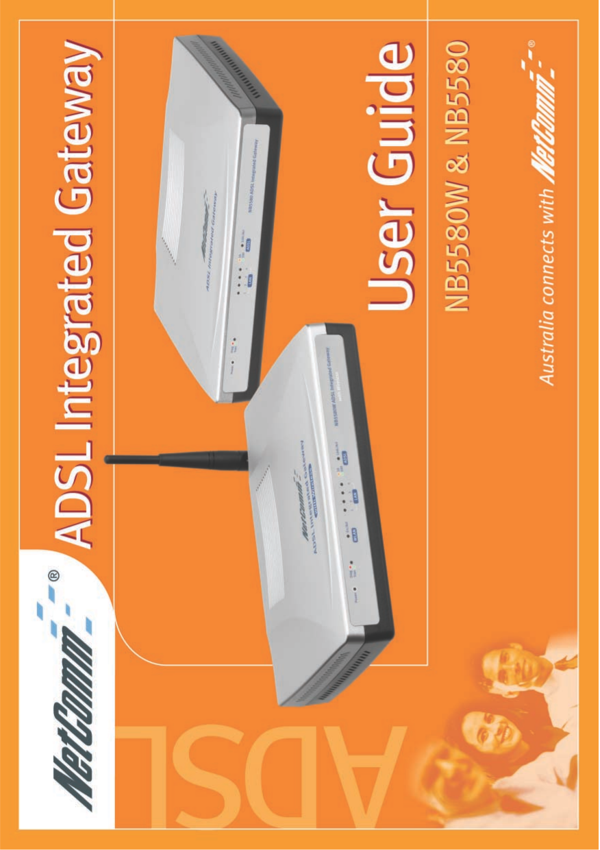 pdf for Netcomm Router NB5580 manual
