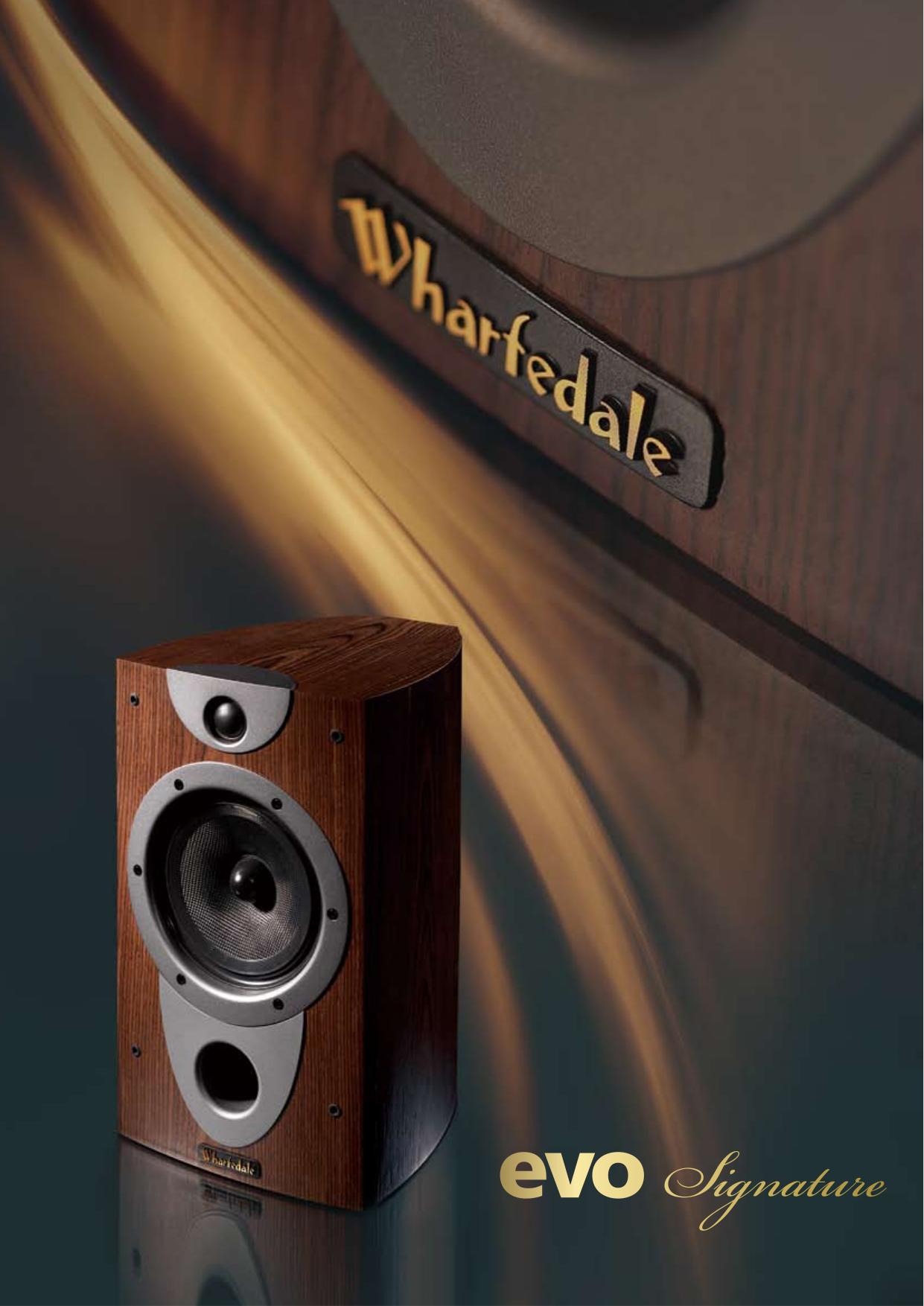 pdf for Wharfedale Speaker EVO2-10 manual