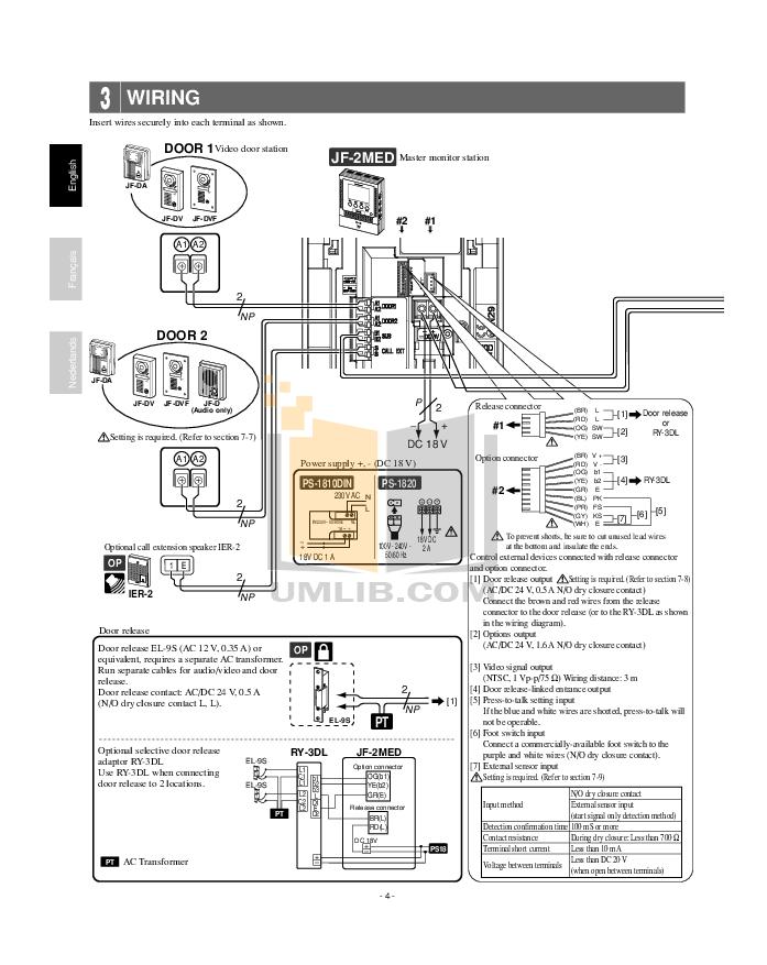 Aiphone Lef 3L Wiring Diagram from srv2.umlib.com