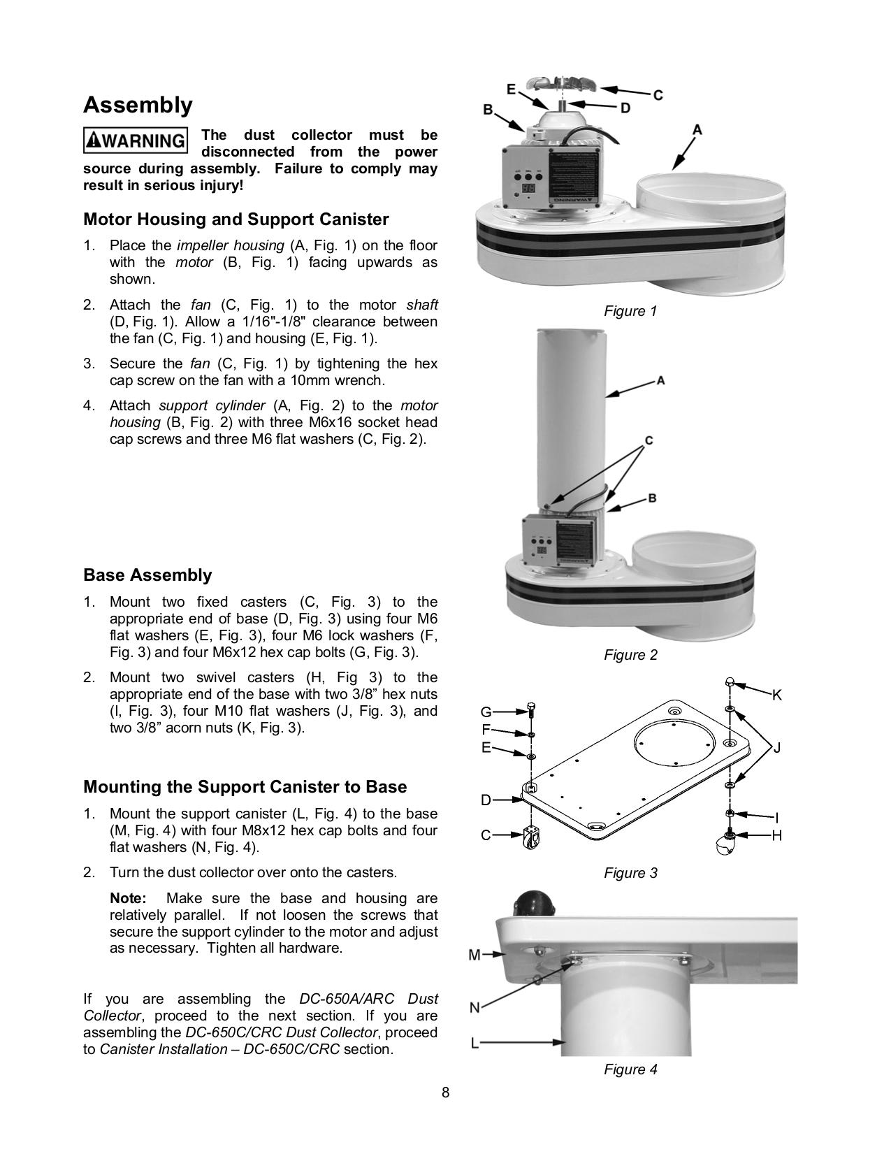 Jet Vacuum DC-650TS pdf page preview