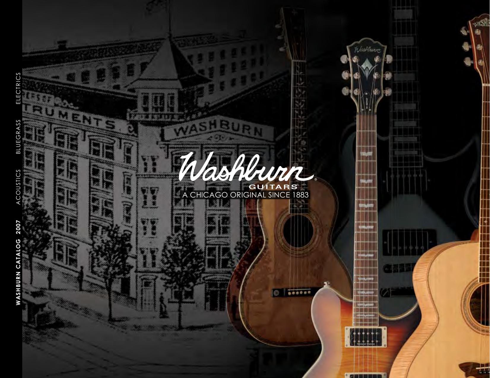 pdf for Washburn Guitar Idol Series WI14 manual