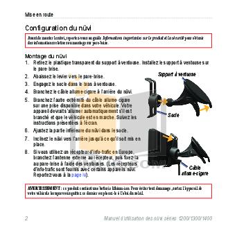 Garmin Nuvi owners manual 1300