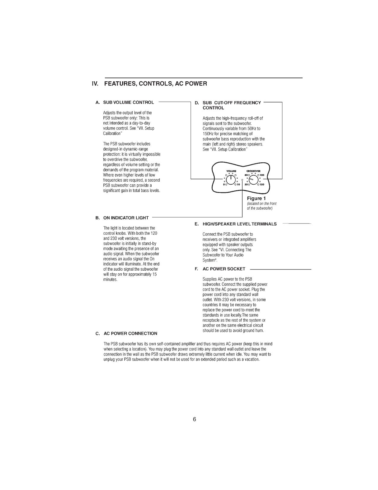 PSB Speaker System Alpha Alpha C pdf page preview