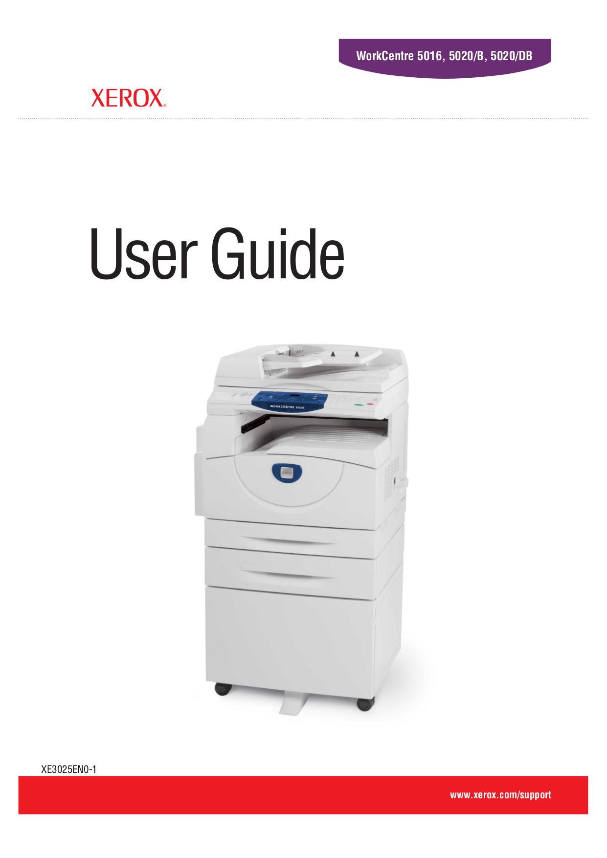 Xerox Workcenter 24 Service Manual