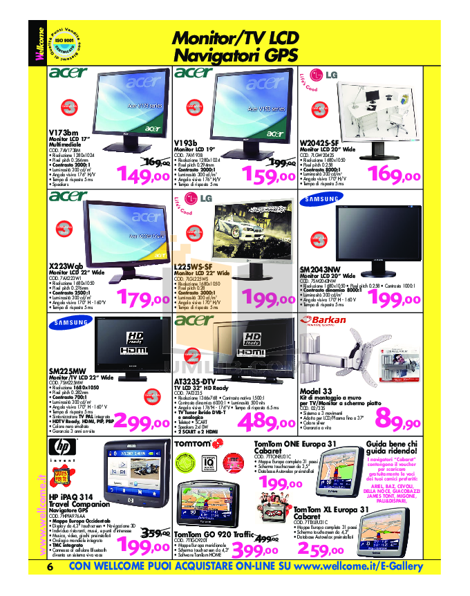 Acer Monitor V193B pdf page preview