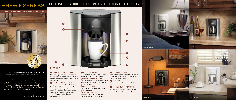 pdf for Lance-Larkin Coffee Maker Brew Express BE-104C manual