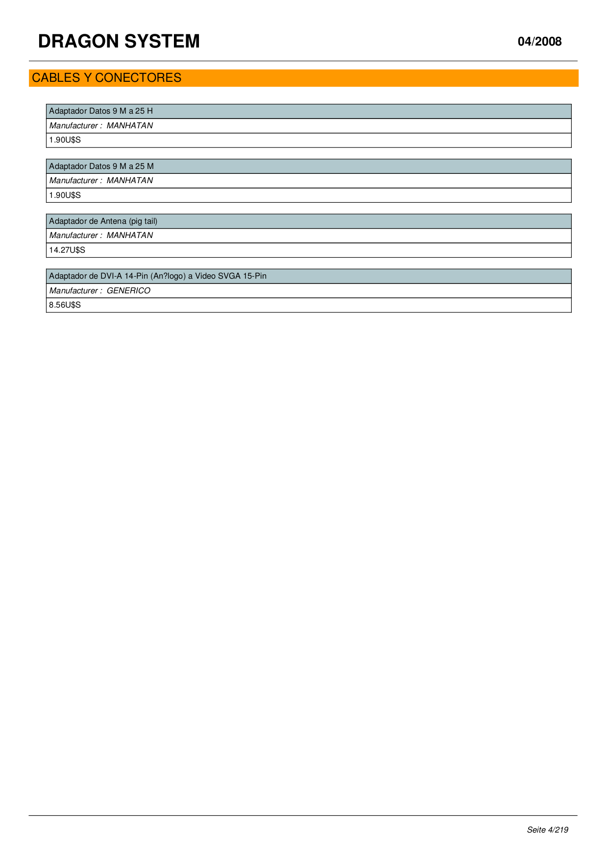NexoTek Telephone NT-P600S pdf page preview