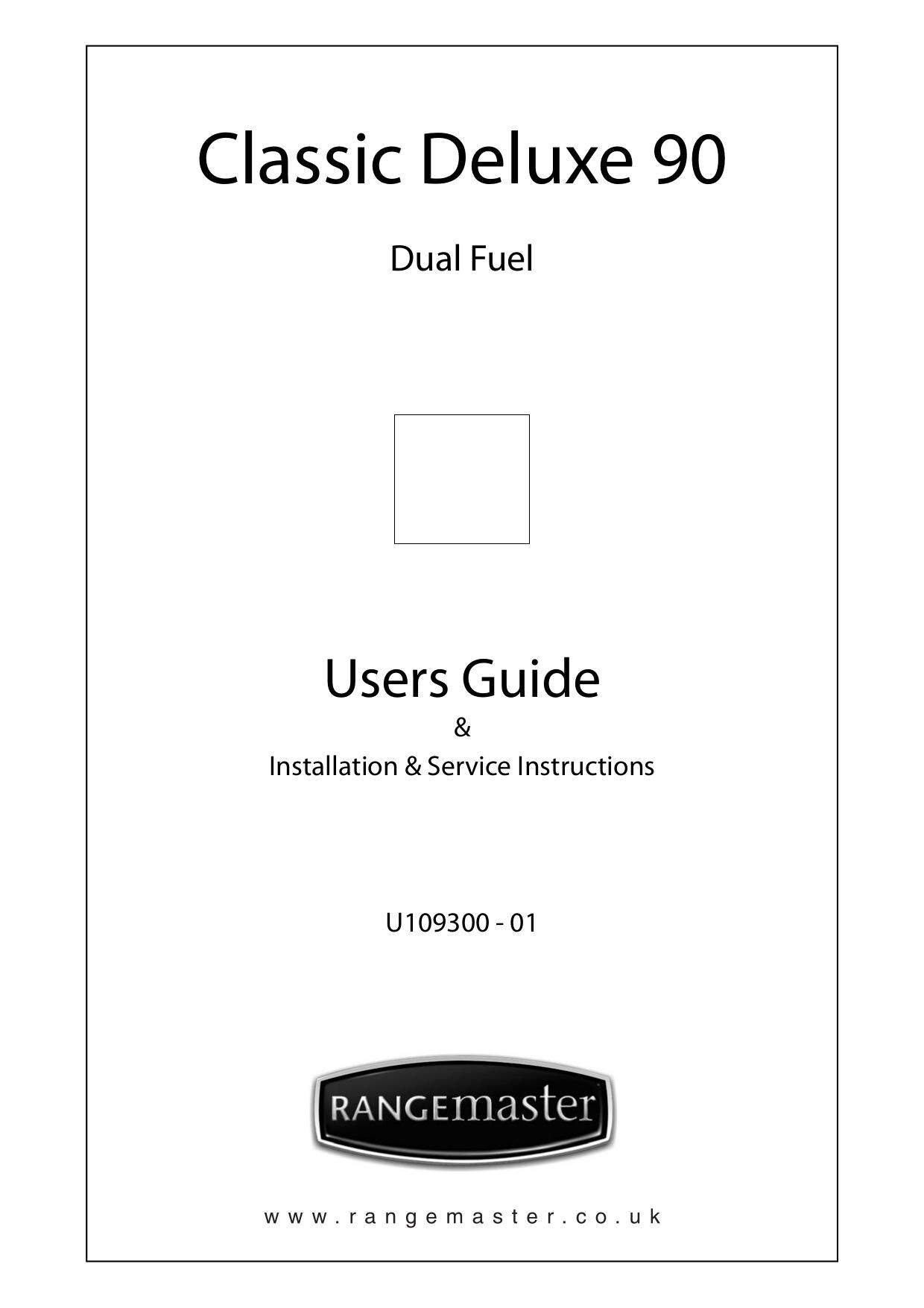pdf for Rangemaster Other SxS Refrigerator manual