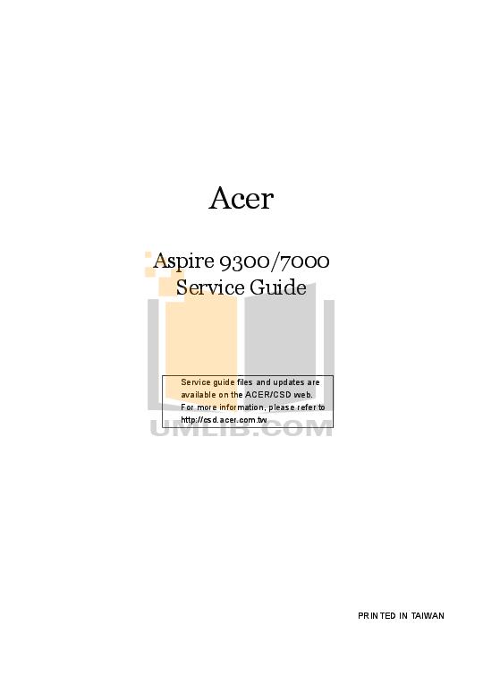 pdf for Acer Monitor AL1521 manual