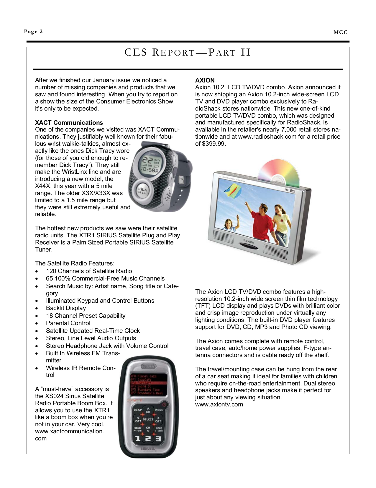 Norcent DVD Players DP220 pdf page preview