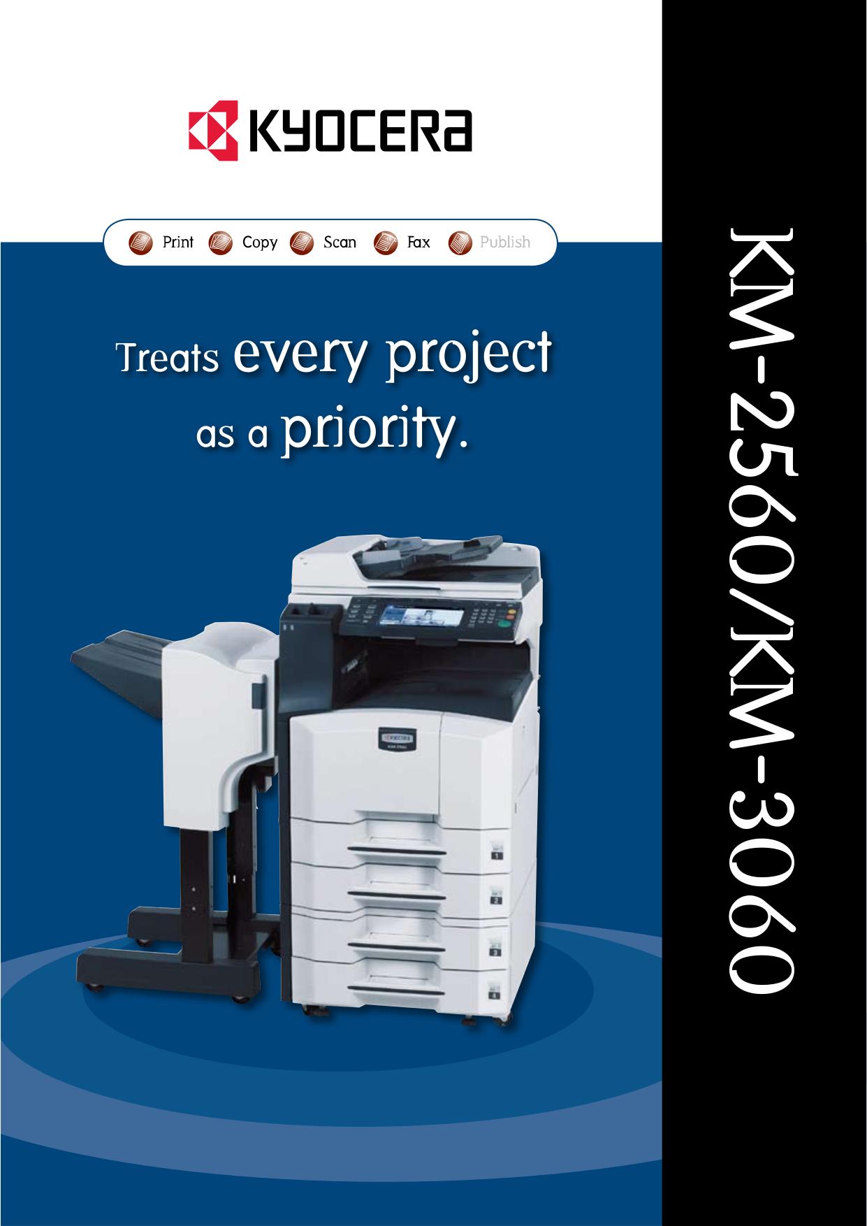 Kyocera Km c2525e manual