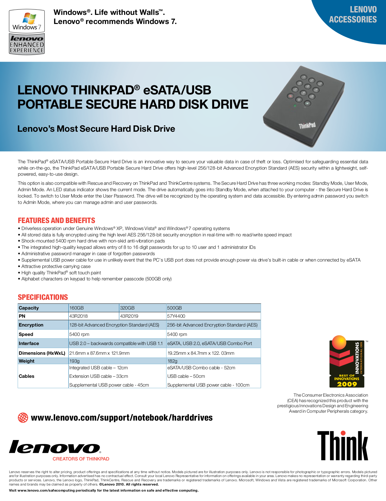 pdf for Lenovo Storage 57Y4400 manual