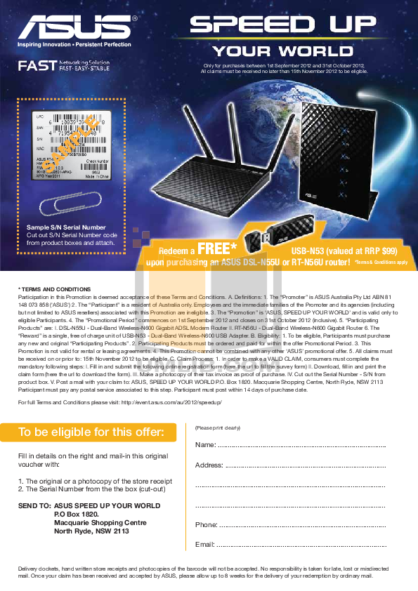 pdf for Asus Wireless Router RT-N56U manual