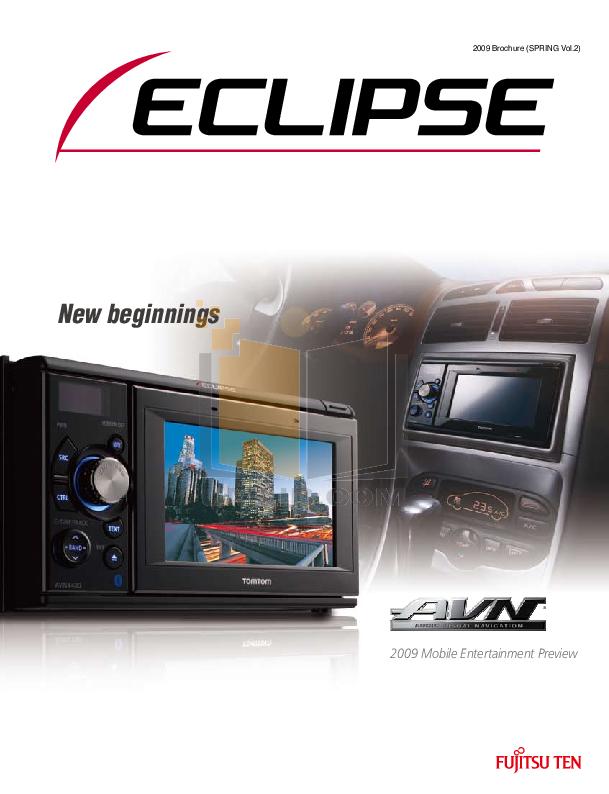 pdf for Eclipse Car Amplifier ZA1200 manual