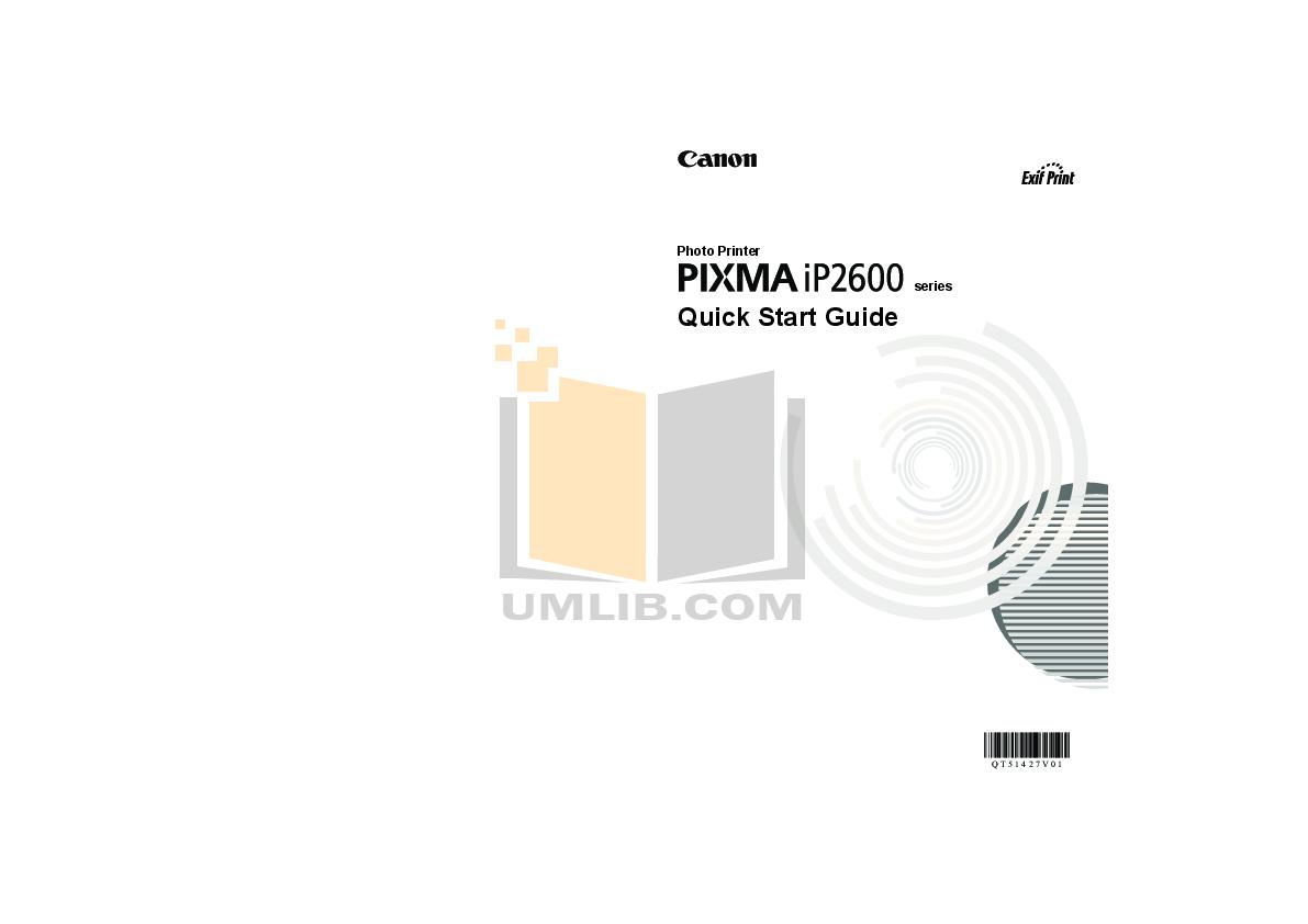 pdf for Canon Printer PIXMA iP2600 manual